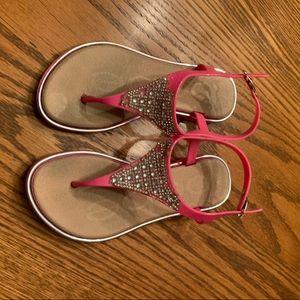 Little girls sandals